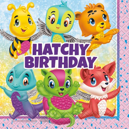 HatchimalsTM Drink Napkins