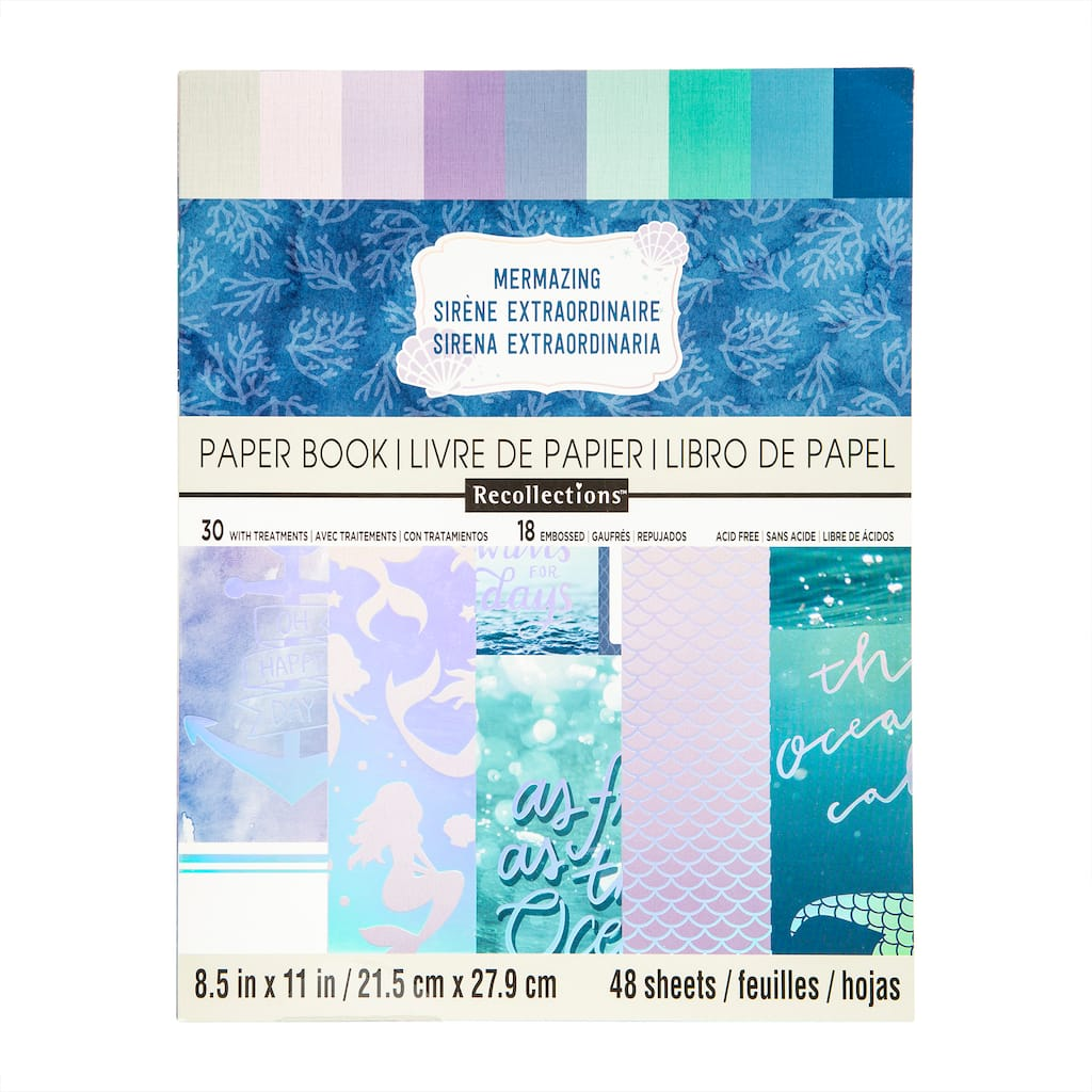 Buy The Mermazing Paper Pad By Recollections At Michaels