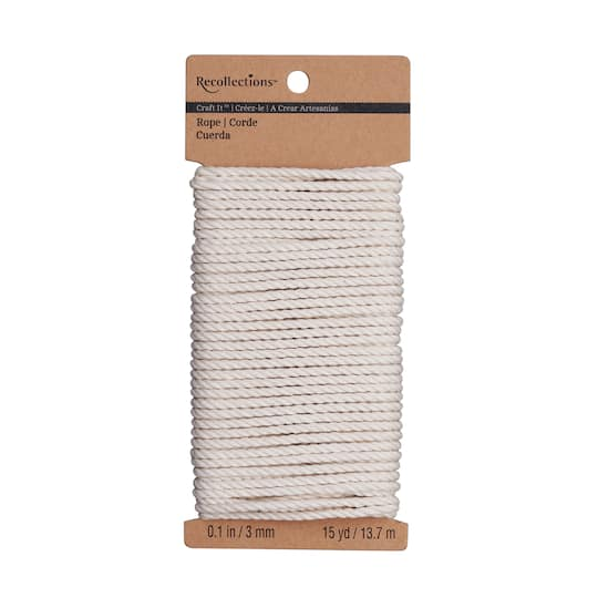 Recollections™ Craft It™ Cotton Rope