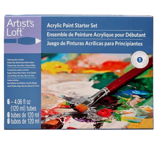 Artist S Loft Acrylic Paint Starter Set
