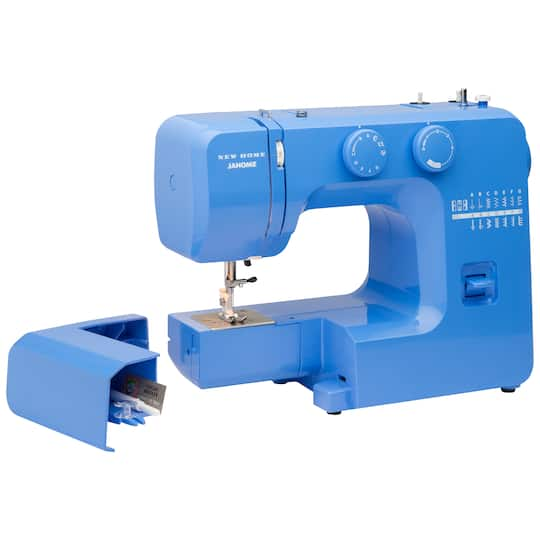 Janome Blue Couture EasytoUse Sewing Machine Impressive Janome 4618 Sewing Machine Reviews