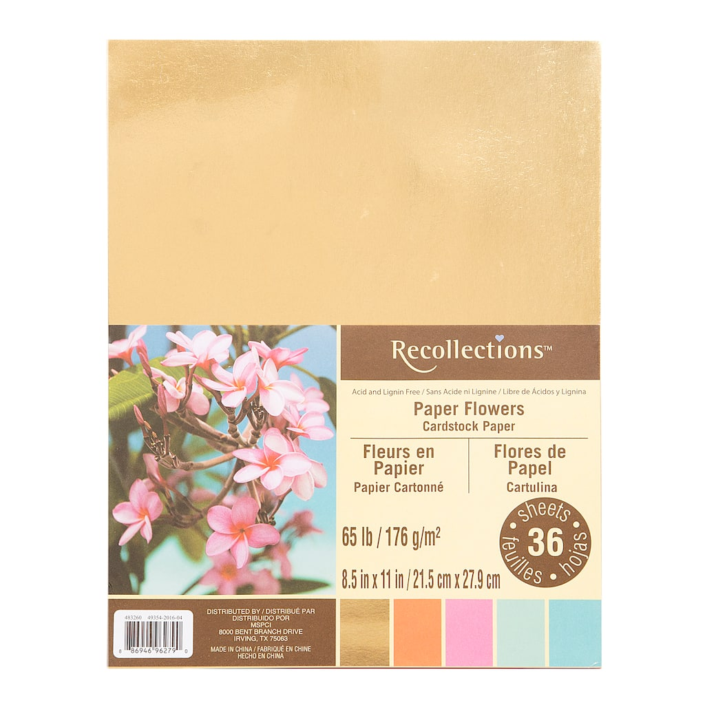 Find the paper flower cardstock paper by recollections at michaels paper flower cardstock paper by recollections mightylinksfo