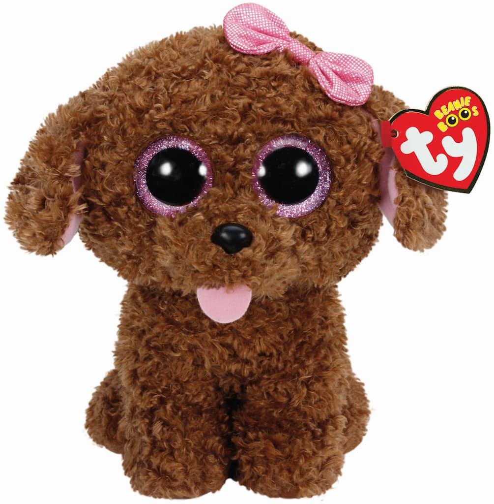 dd479f5fefb Find the Ty Beanie Boos™ Maddie Brown Dog With Bow