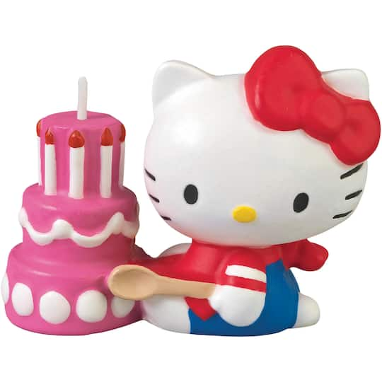 Buy The WiltonR Hello KittyR Candle At Michaels