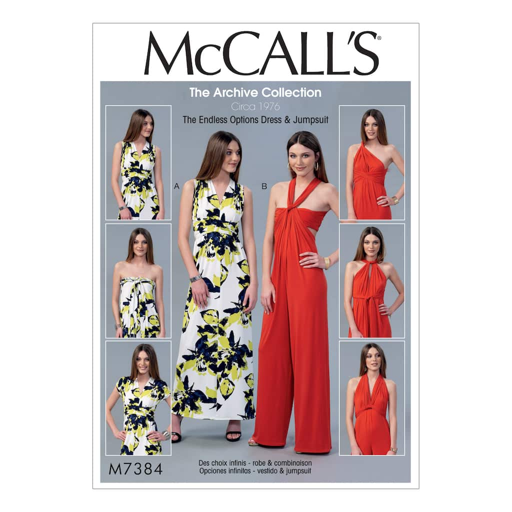 80a85bed8ec9 McCall's Pattern M7384 (6-8-10-12)