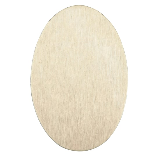 Artminds Wood Oval Shape