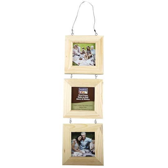 3 Piece Hanging Wood Frame by ArtMinds™