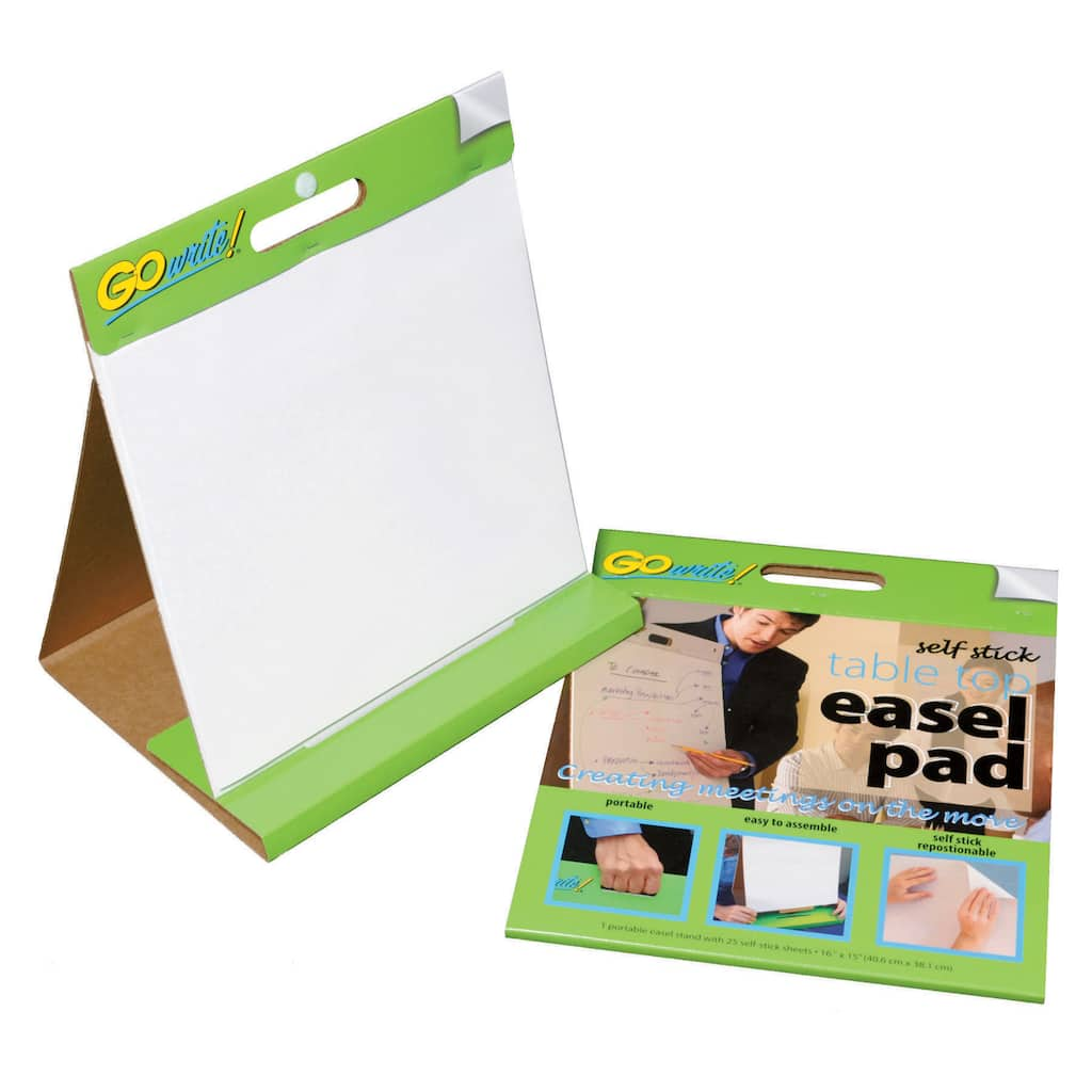 Get The Gowrite 174 Table Top Easel Pad 16 Quot X 15 Quot White