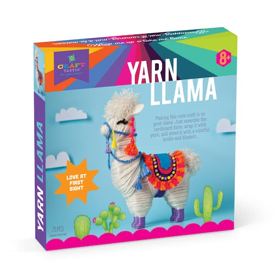 Shop For The Craft Tastic Kit Yarn Llama At Michaels