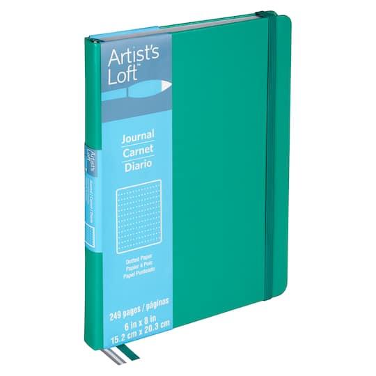b293ae9fa711 Teal Dot Journal By Artist's Loft™