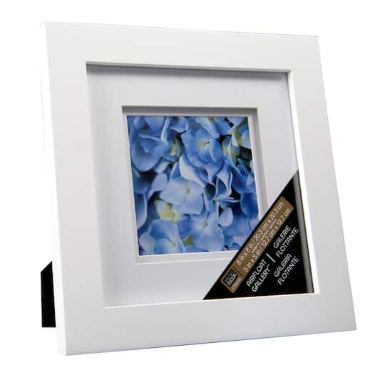 White Gallery Frame with Double Mat by Studio Décor®