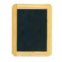 Deals on Pepperell Braiding Company Chalkboard Slate 4x6-inch