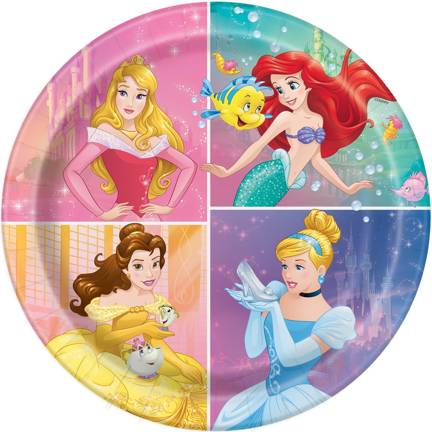 Disney Princess Paper Plates | Party Supplies