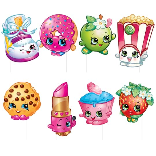 Shopkins Photo Booth Props Shopkins Party Supplies