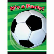 Soccer Invitations, 8ct