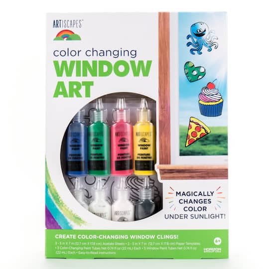 Artiscapes Color Changing Window Art Kit