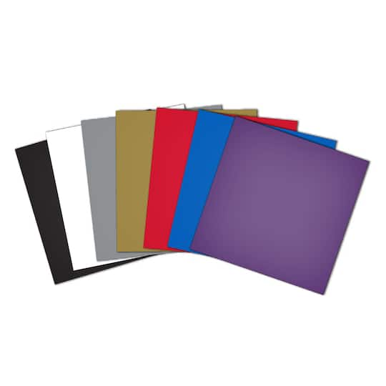 scanncut adhesive vinyl sheets assorted colors