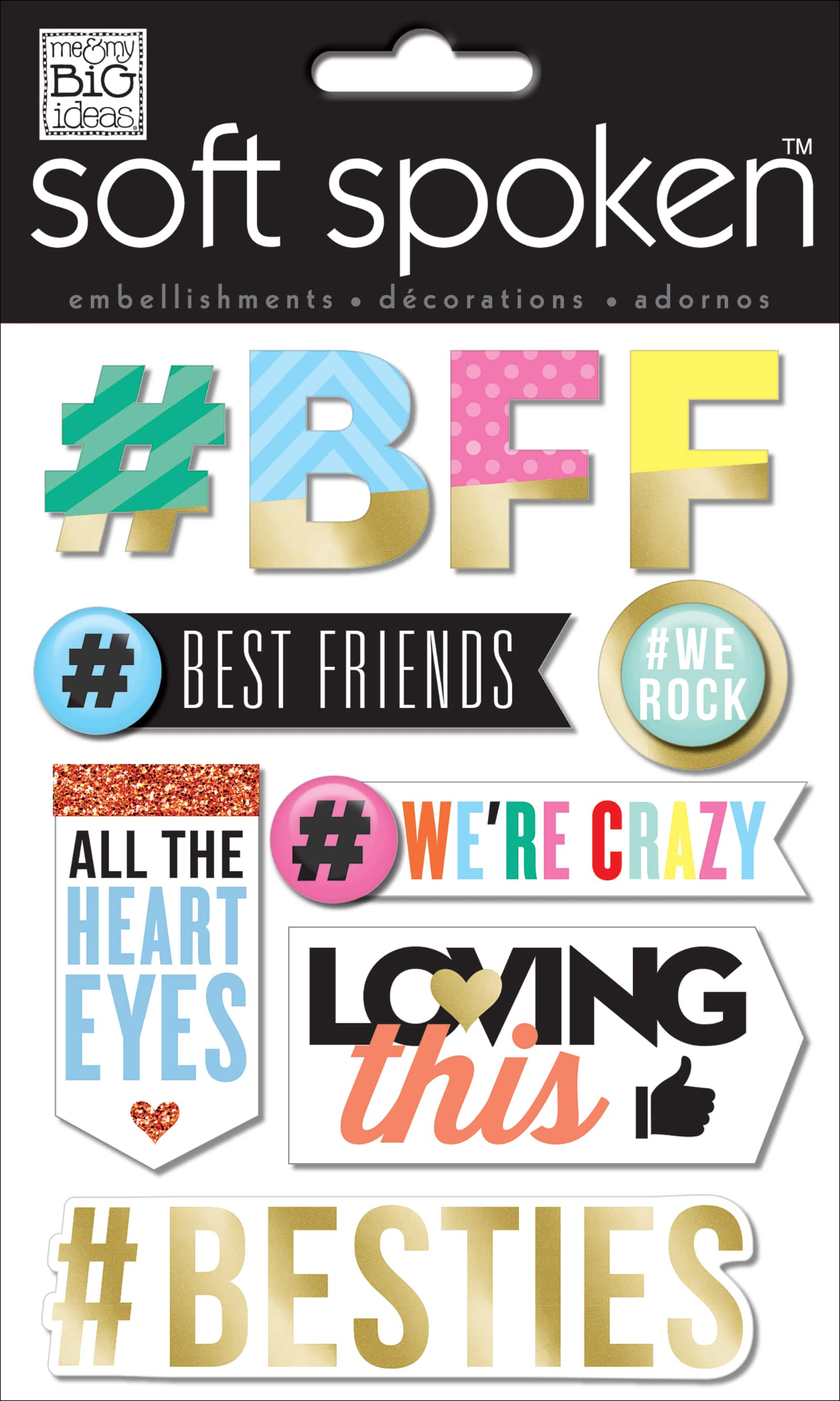 Friends Me and My Big Ideas Mambi Sticker Embellishment