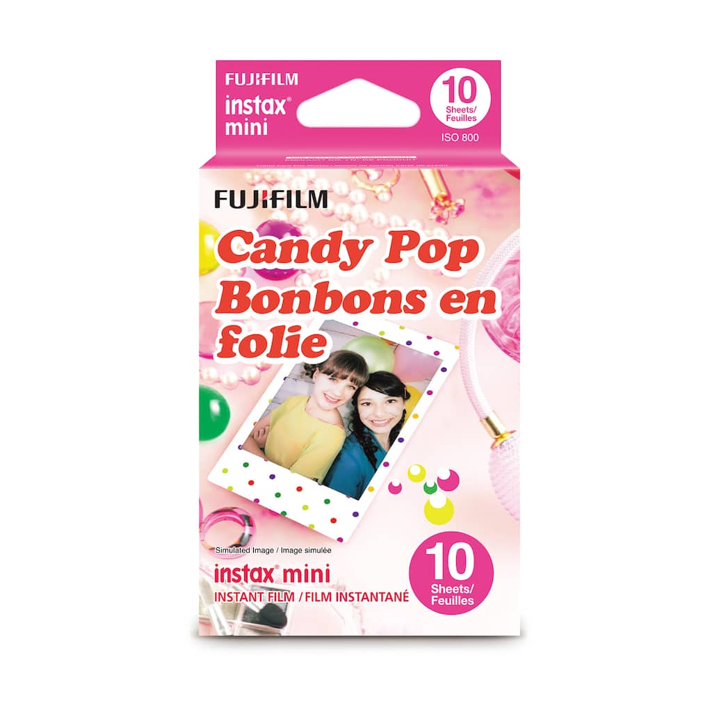 Find The Fujifilm Instax Mini Candy Pop Film At Michaels 3 Pack Wide Twin