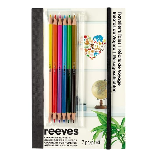 reeves colour by numbers a5 traveller s tales