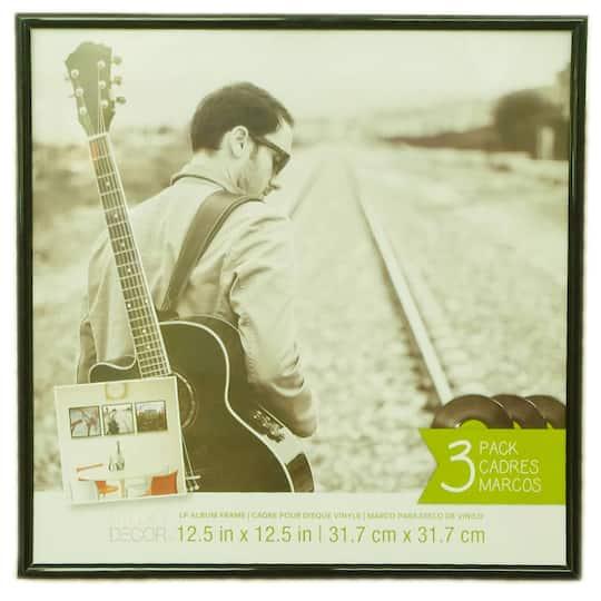 Studio Décor Lp Album Frame 3 Pack