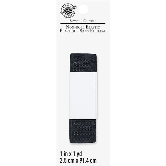 Shop For The Black Non Roll Elastic By Loops Threads At Michaels