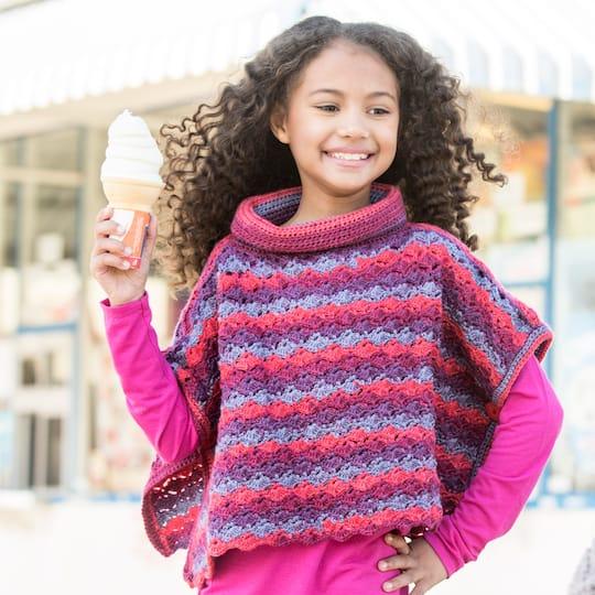Loops Threadsâ Joy Dkâ Kids Shell Crochet Poncho Projects