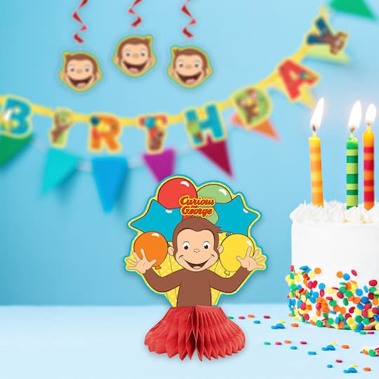 Curious George Birthday Banner 6 5 Ft