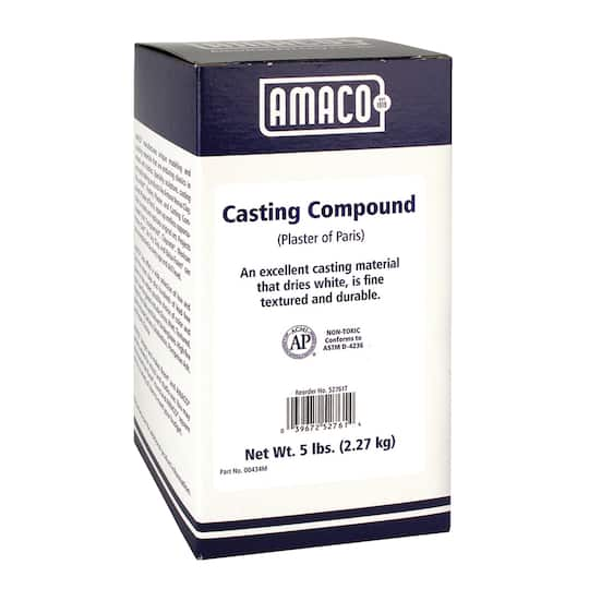 AMACO® Plaster of Paris, 5 lbs