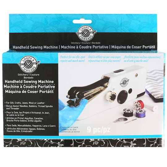 Find The Handheld Sewing Machine By Loops Threads At Michaels Interesting How To Thread Handheld Sewing Machine