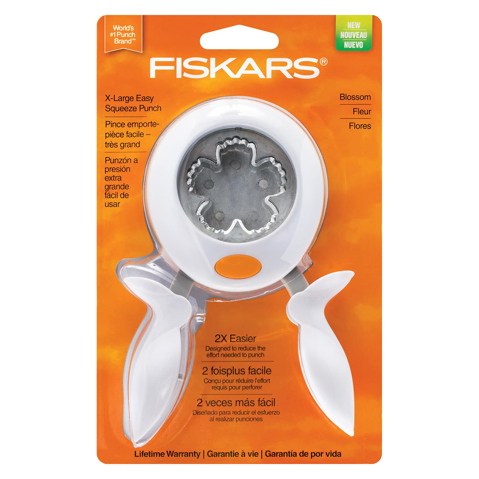 Extra-Large-Frozen Fiskars Squeeze Punch