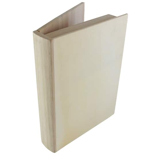 Wooden Book Box By Artminds