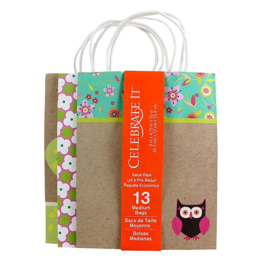 Owls Medium Gift Bag