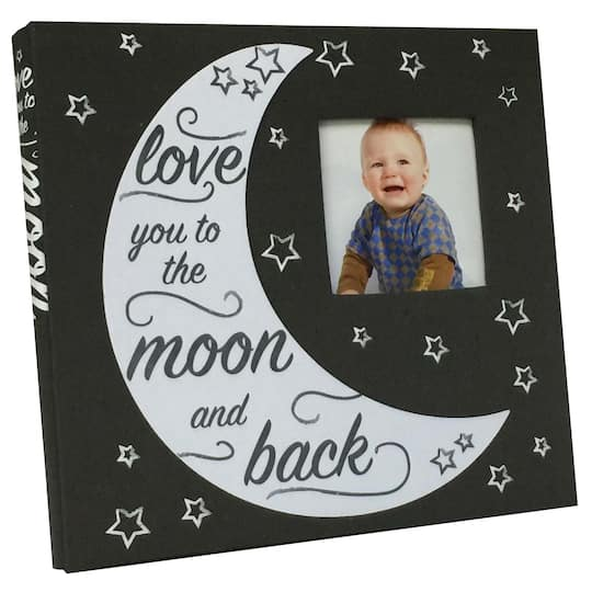 Find The Grey Moon Scrapbook By Recollections At Michaels
