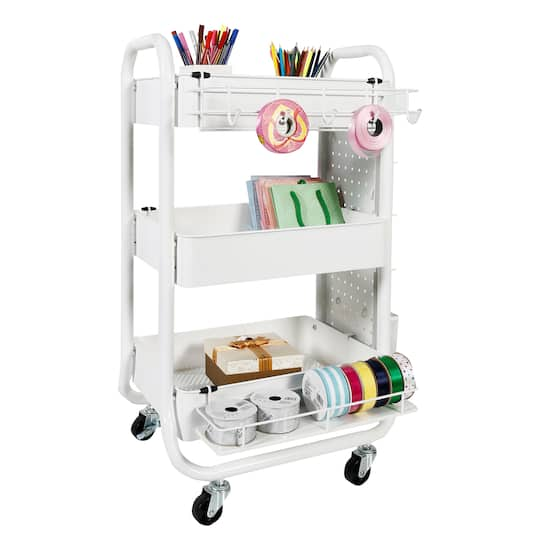 1ac96e3263a2 White Gramercy Cart By Recollections™