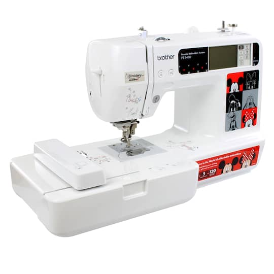 Brother™ PE40D Disney EmbroideryOnly Machine Cool Brother Disney Sewing Machine