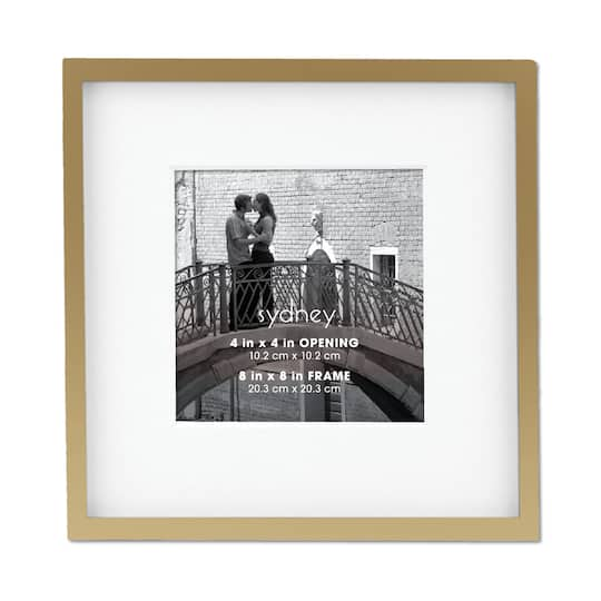 Buy the Gold Sydney Frame with Mat by Aaron Brothers at Michaels
