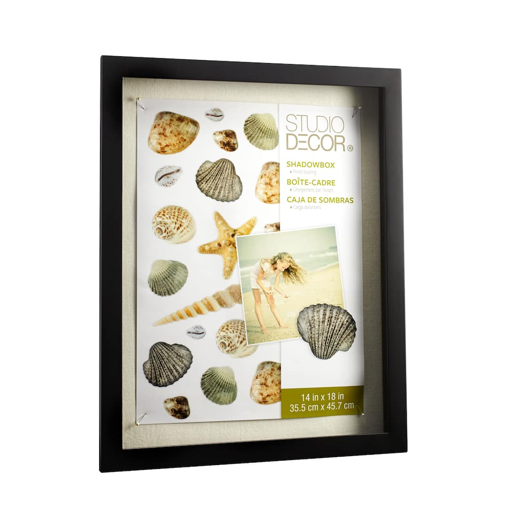 Studio Décor® Front Opening Shadowbox