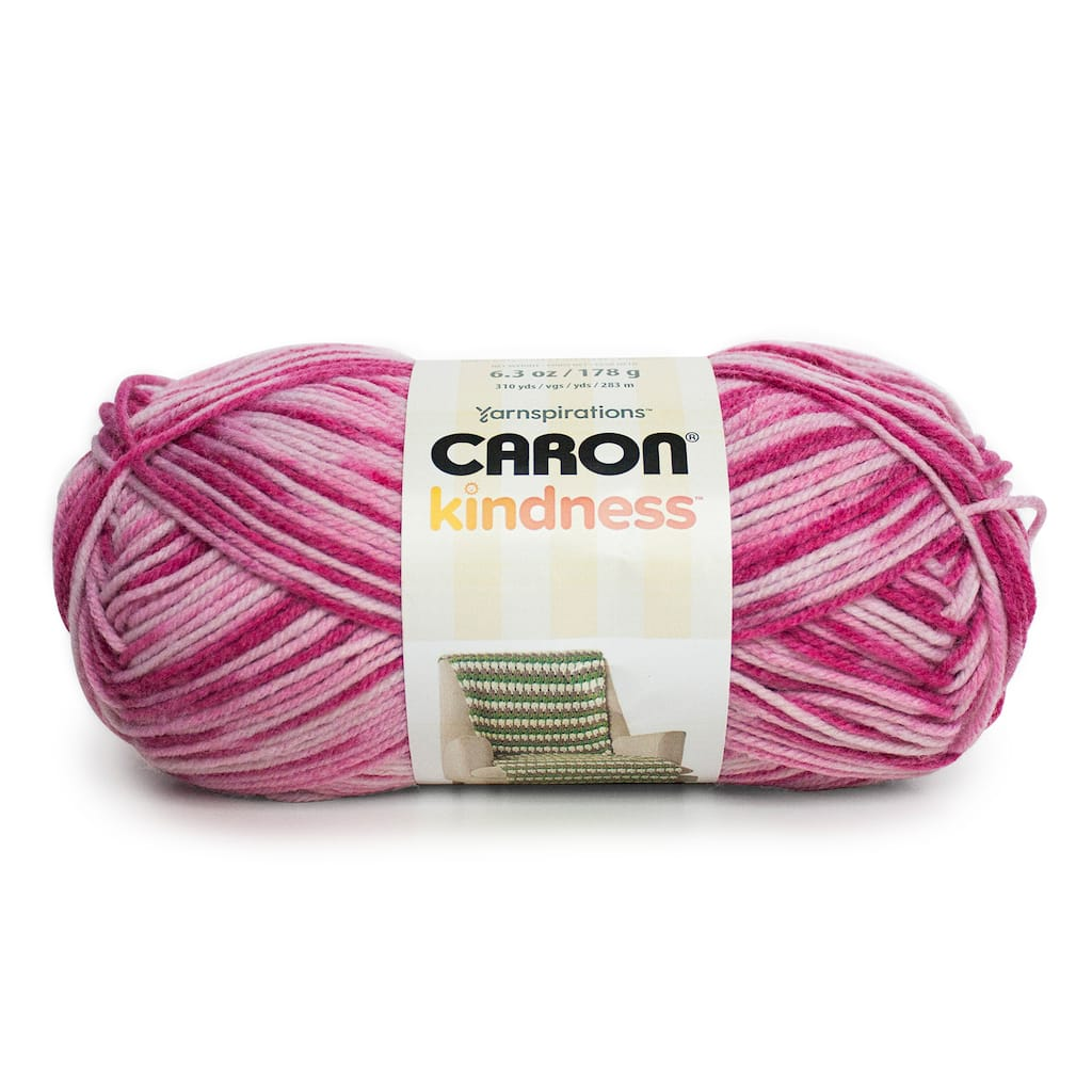 Caron Kindness Yarn, Variegated Twirling