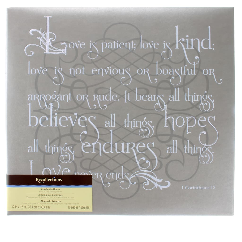 Buy The Love Is Kind Scrapbook Album By Recollections At Michaels