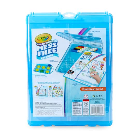 Crayola® Color Wonder Mess Free™ Coloring Stow & Go Studio™ Lap Desk
