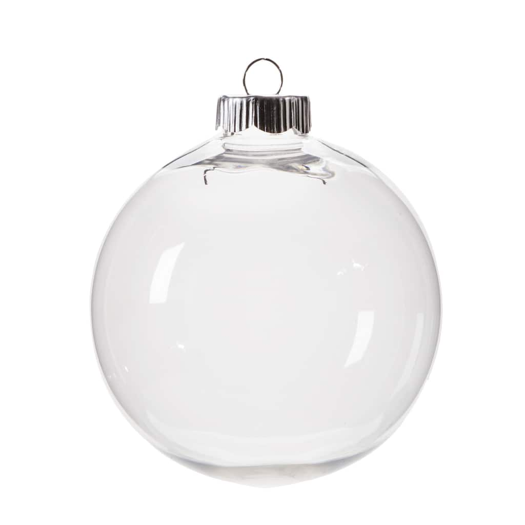 Clear Plastic Ornament - 100mm   Michaels