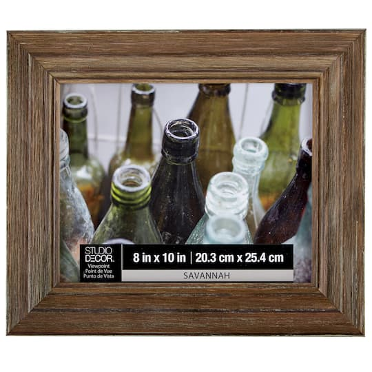 Distressed Wood Frame 8 X 10 Savannah By Studio Décor