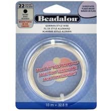 Beadalon German Style Wire Round 22 Gauge