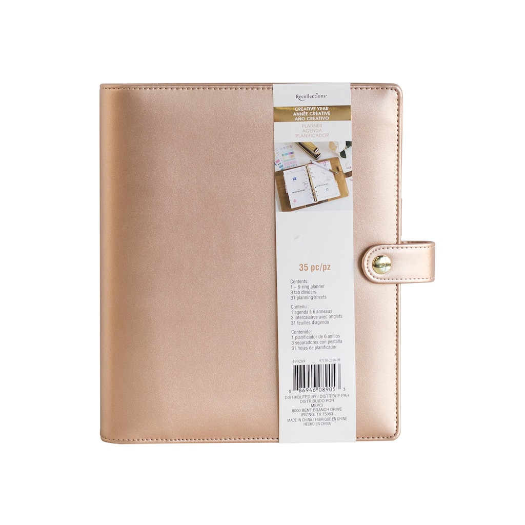 Creative Year A12 Binder By Recollections™