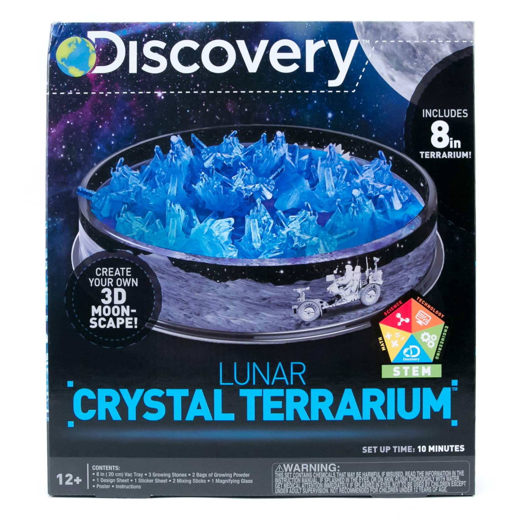 Shop For The Discovery Kids Lunar Crystal Terrarium Kit At Michaels