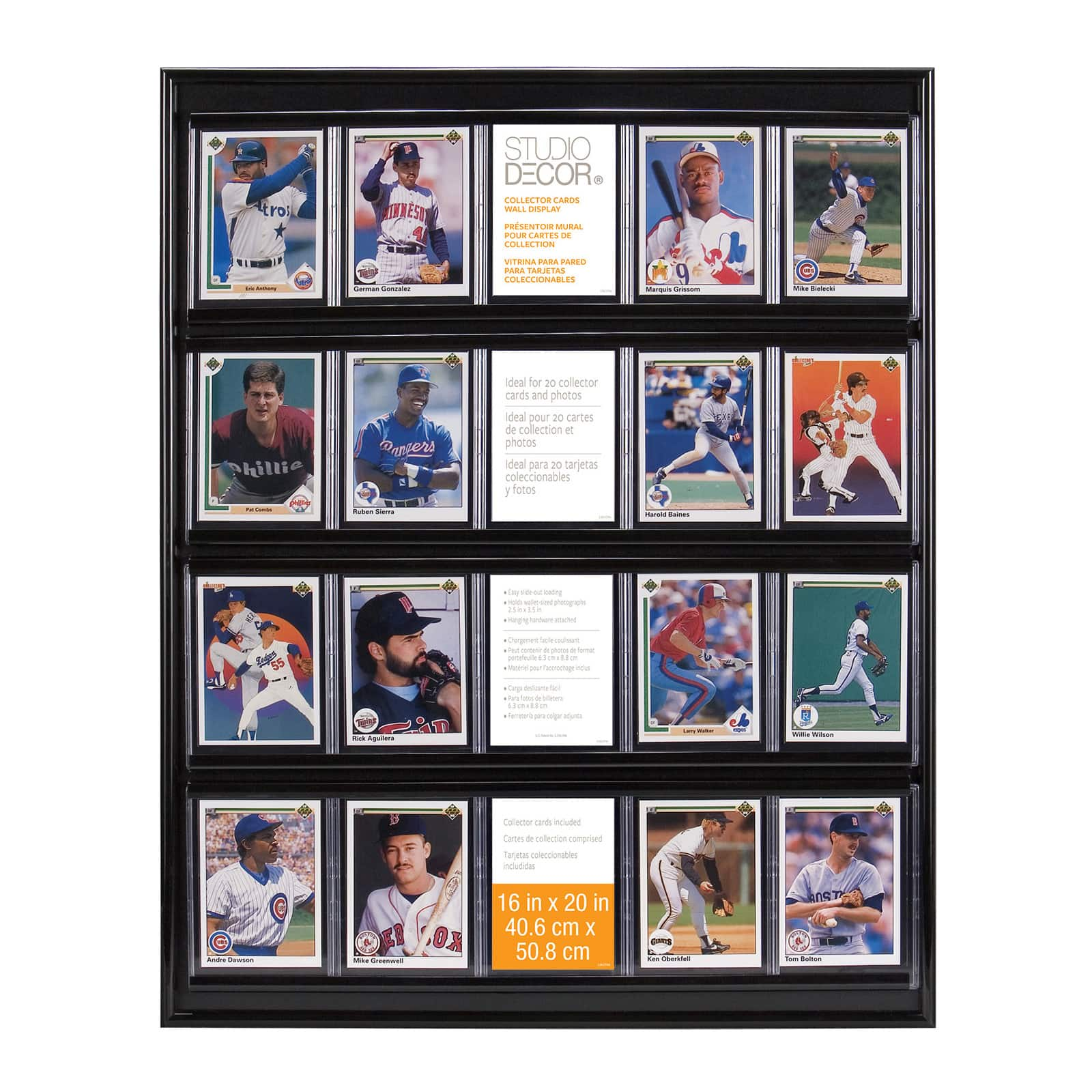 50 Ultra Pro Card Stands Display Pictures Photos Sportscards Stand Easel
