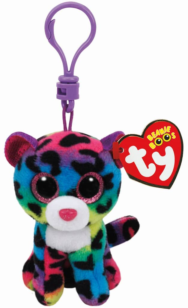 Buy The Ty Beanie Boos Dotty Multicolored Leopard Clip At Michaels