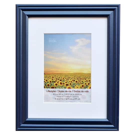 Buy The Indigo Frame 8 X 10 With 5 X 7 Mat Lifestyles By