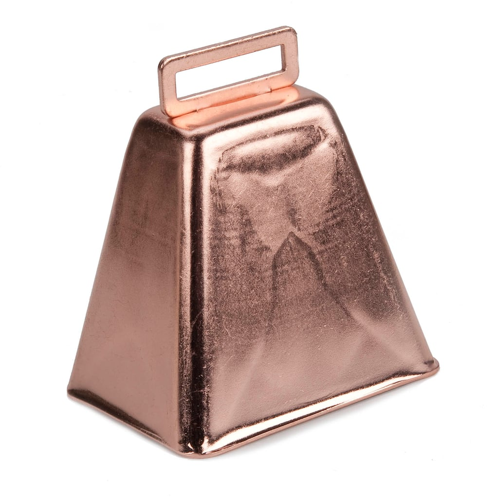 Cowbell Copper 3 Inch